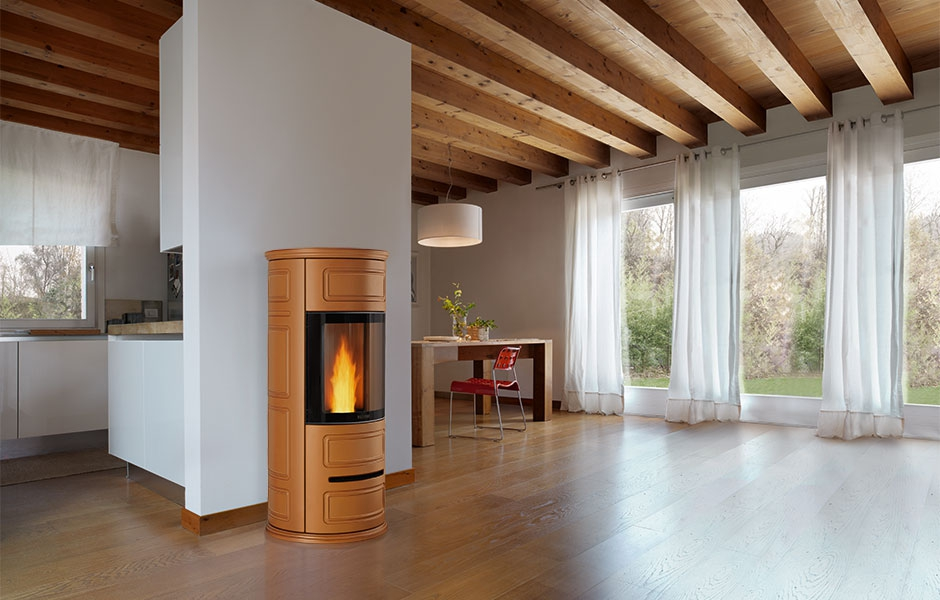Piazzetta stufe a pellet p943 - Casa in canapa costo ...